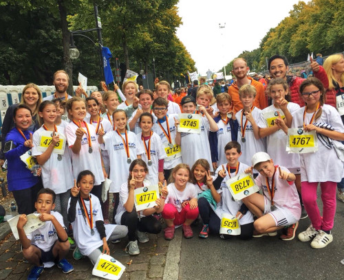 mini-Marathon 2017 P23 students