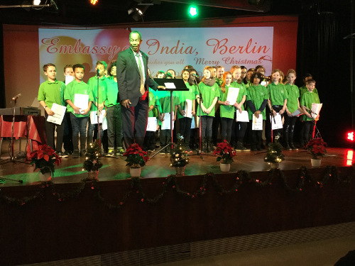 NMS Choir at the Indian Embassy 3